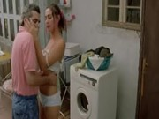 Мама с папой в ванной секс