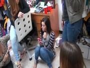 Смотреть порно студентки дойки